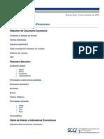 Informe Económico Financiero (Macroeconomía y Finanzas Argentina) - Noviembre 2013 - SCCR Consultores