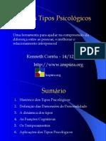 Palestra - Tipos Psicológicos (MBTI)