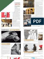 Rudy Girón y Agenda cultural Revista Habitart