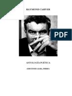 CARVER AntologiaPoetica