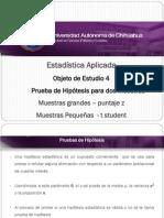 7 - Prueba de Hipotesis Puntaje z y t Student