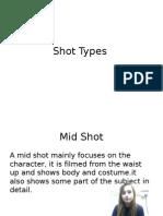 shot types and camera angles