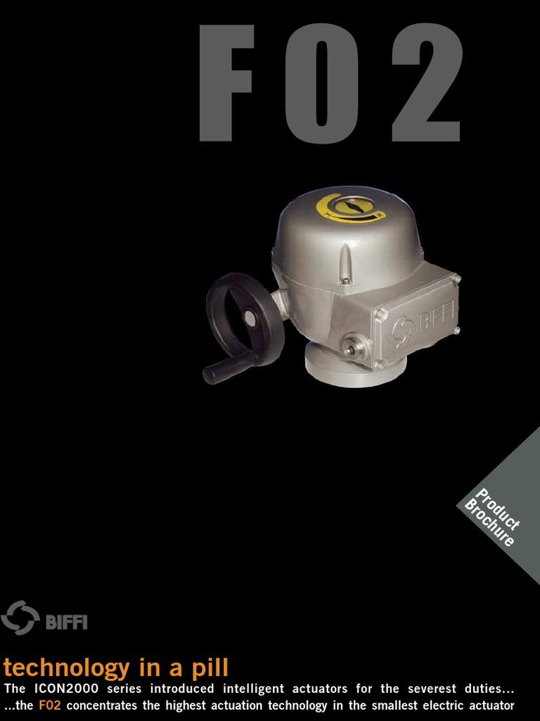 ELECTRIC ACTUATOR - BIFFI KEYSTONE F02_EN.pdf | Power Supply | Alternating  Current