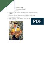 Relación de imágenes de Canario