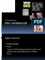 Postcolonialism doc | Postcolonialism | Colonialism