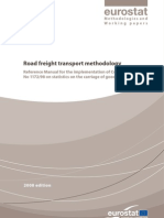 Eurostatistics-road Freight Transport Methodology
