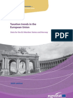 Eurostatistics-taxation Trends in European Union-2009