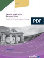 Eurostatistics-taxation Trends in European Union-2009