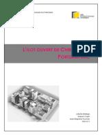 Ilot Ouvert de Portzamparc Rapport GE12 Bellego Cazin Fournier