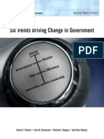 SixTrends Driving Change in Government