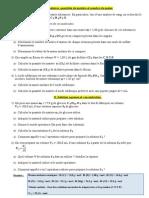 كمية المادة والمحاليل en francais