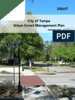Tampa Urban Forest Management Plan draft