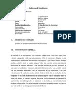 153002499 Informe Psicologico Orientacion Vocacional