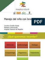 Manejo del niño con bromquiolitis - Carolina Giraldo Alzate