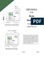 Manual Vibrometru