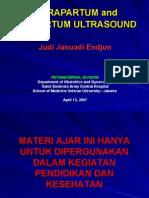 USG Intensif 15. Pemeriksaan Intra Dan Postpartum JJE 20090713