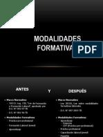 Modalidades Formativas Gr.2