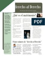 'derecho al Derecho' 1 - Revista virtual