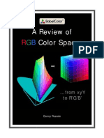 A Review of RGB Color Spaces