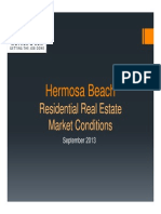 Hermosa Beach Real Estate Market Conditions - September 2013