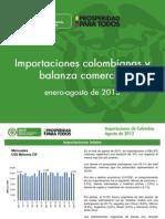 oee- ma 08 informe de importaciones y balanza agosto de 2013 oct  2013