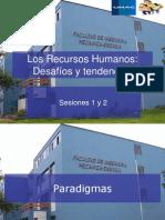 01 y 02- Los Recursos Humanos Desafíos y tendencias