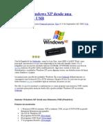 Instalar Windows XP Desde Una Memoria USB