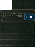 Secretariado Nacional de Liturgia Comentarios Biblicos Al Leccionario Ferial