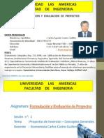 Formulacion de Proyectos Clase 1