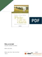 17703870 Esther y Jerry Hicks Pide y Se Te Dara