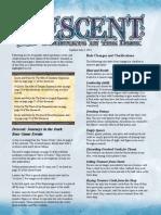 First Edition Descent FAQ 7-3-2012