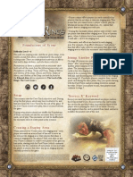 Foundations of Stone Rulesheet
