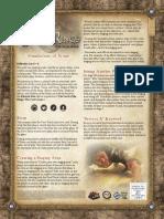 Foundations of Stone Rulesheet