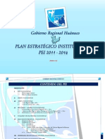 PLAN ESTRATÉGICO INSTITUCIONAL 2011_2014_Final