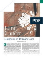 Lung Cancer Diagnosis in Primary Care