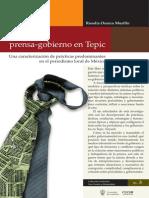 Relaciones Prensa-Gobierno en el periodismo local de México.