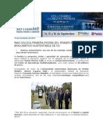 12-11-2013 Blog Rafael Moreno Valle - RMV COLOCA PRIMERA PIEDRA DEL PRIMER INMUEBLE BIOCLIMÁTICO SUSTENTABLE DE CU