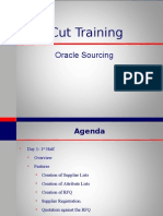 Oracle Sourcing