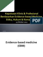 3. Keputusan Klinis & Evidence Based Medicine