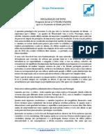 Declaração de Voto - Orçamento de Estado 2014 | José Ribeiro e Castro - Assembleia da República, 1-nov-2013