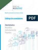 Catalogo de Acumuladores