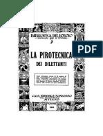 Burello - pirotecnica