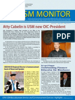 Usm Monitor July 2013 Final Draft