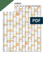 Calendar 2013 Mu