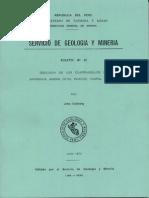 Geología - Cuadrangulo de Barranca (22h), Ambar (22i), Oyón (22j), Huacho (23h), Huaral (23i) y Canta (23j),1973