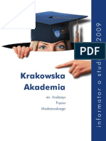 Informator o studiach 2009