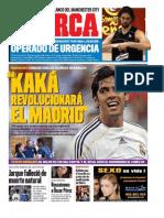 periodico deportivo Marca 11.08.09