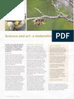 Science and Art - A Restoration - Bush Heritage News