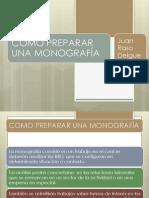 Como Preparar Monografia Juan Raso Delgue
