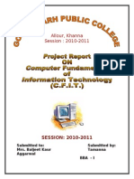 Project of Computer Full